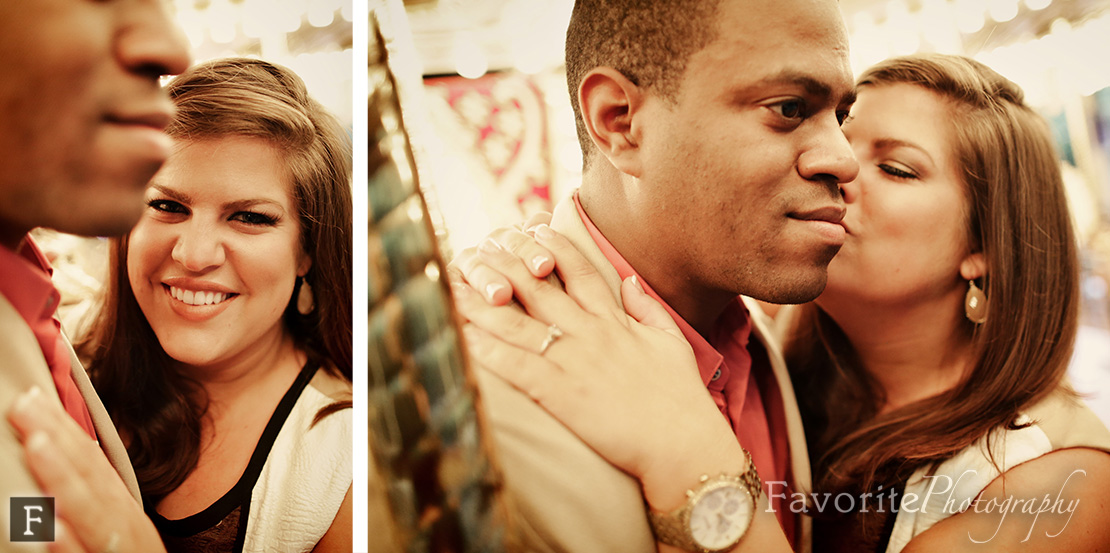 Jacksonville Zoo and Gardens Engagement Photography