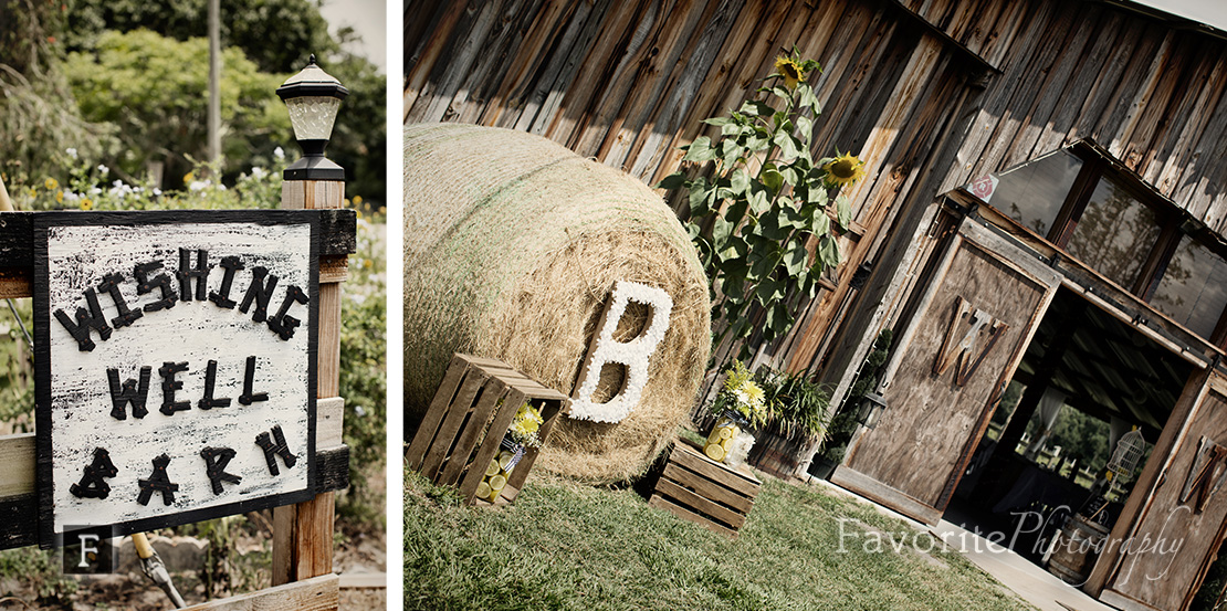 Documentary Wishing Well Barn Wedding Photographer