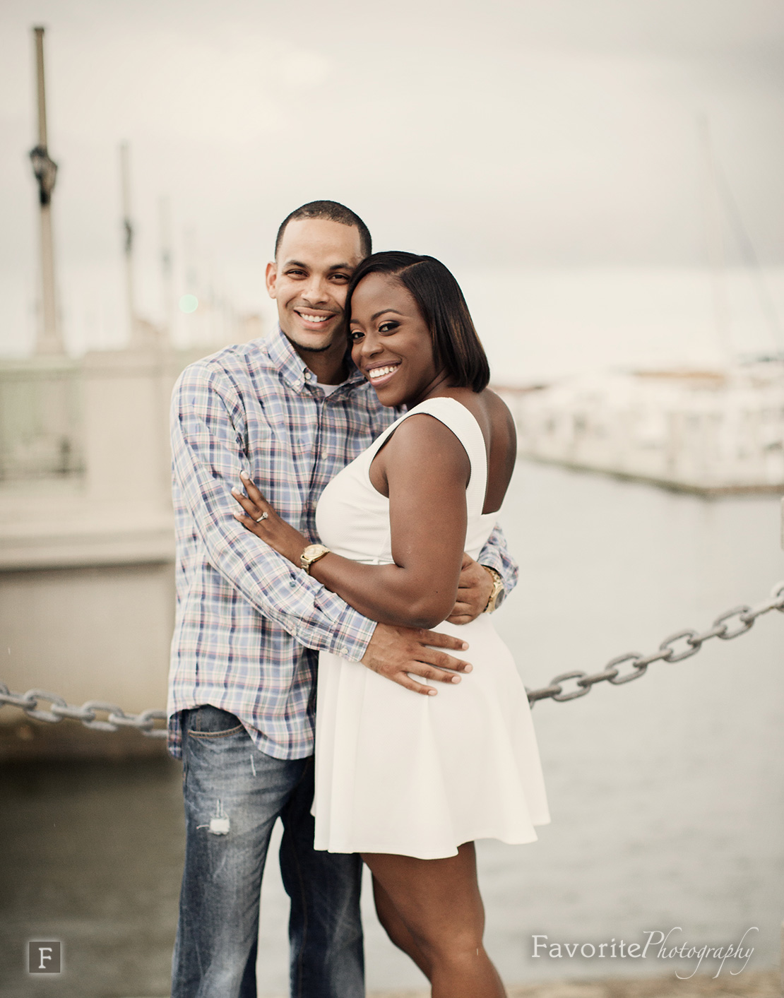 Downtown St Augustine Engagement Photos