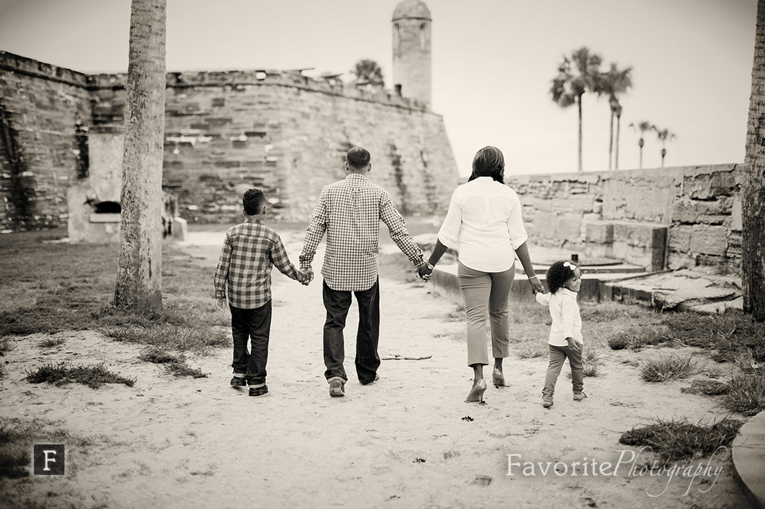 Downtown St Augustine Family Session
