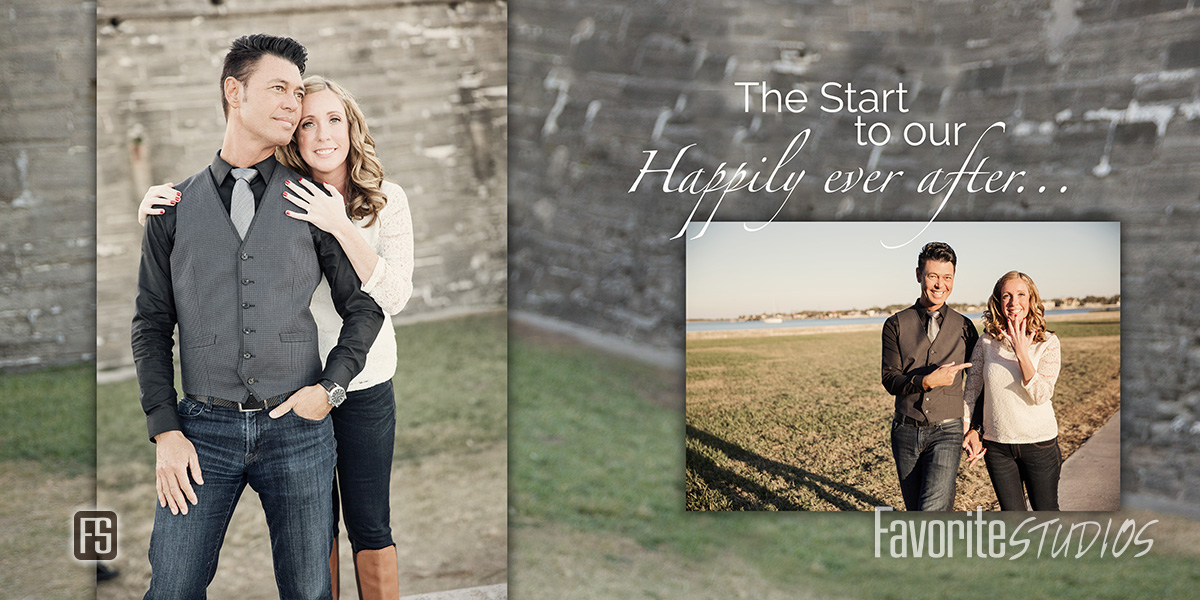 Castillo de san Marcos Fort Engagement Photos