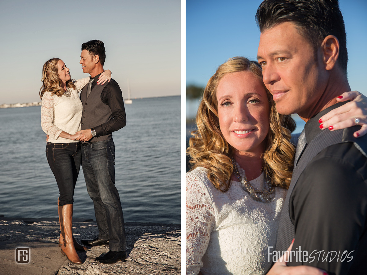 Saint Augustine Waterway Engagement Photos