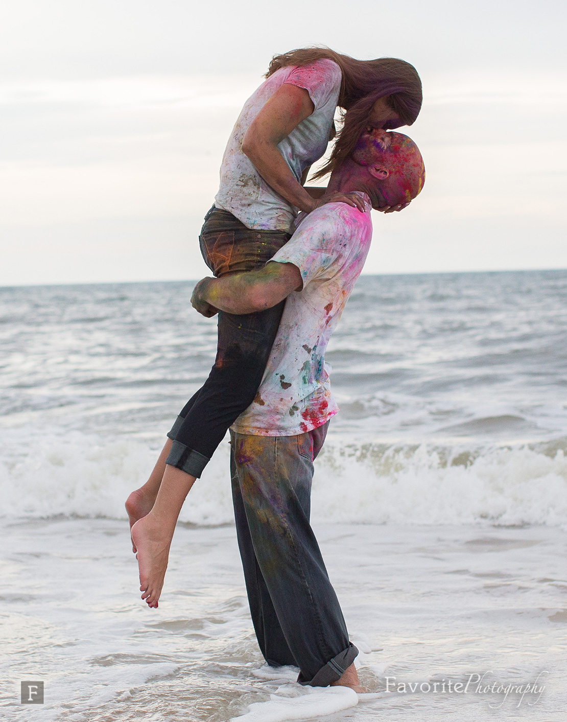 Beach Engagement Picture