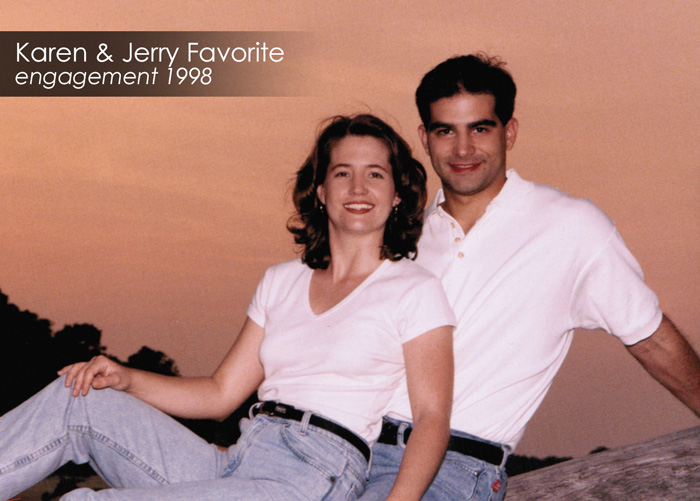Flash Back Photo of Karen and Jerry Favorite