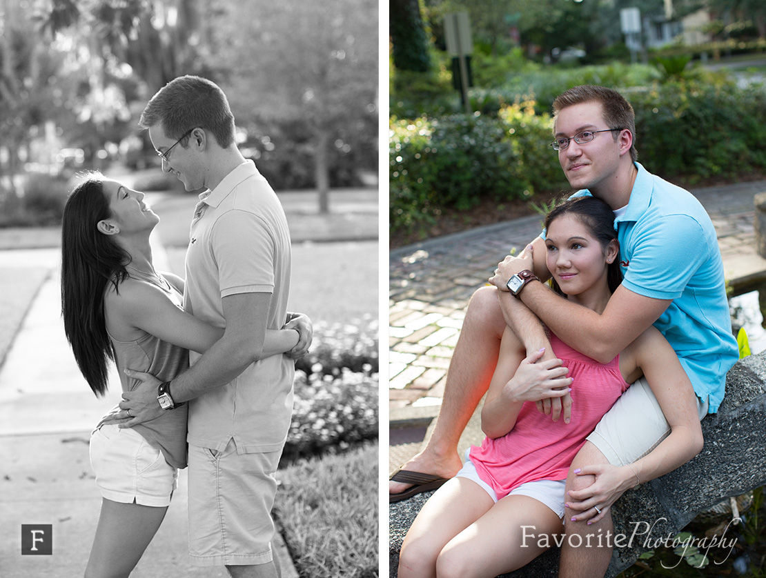 Fun San Marco engagement photography