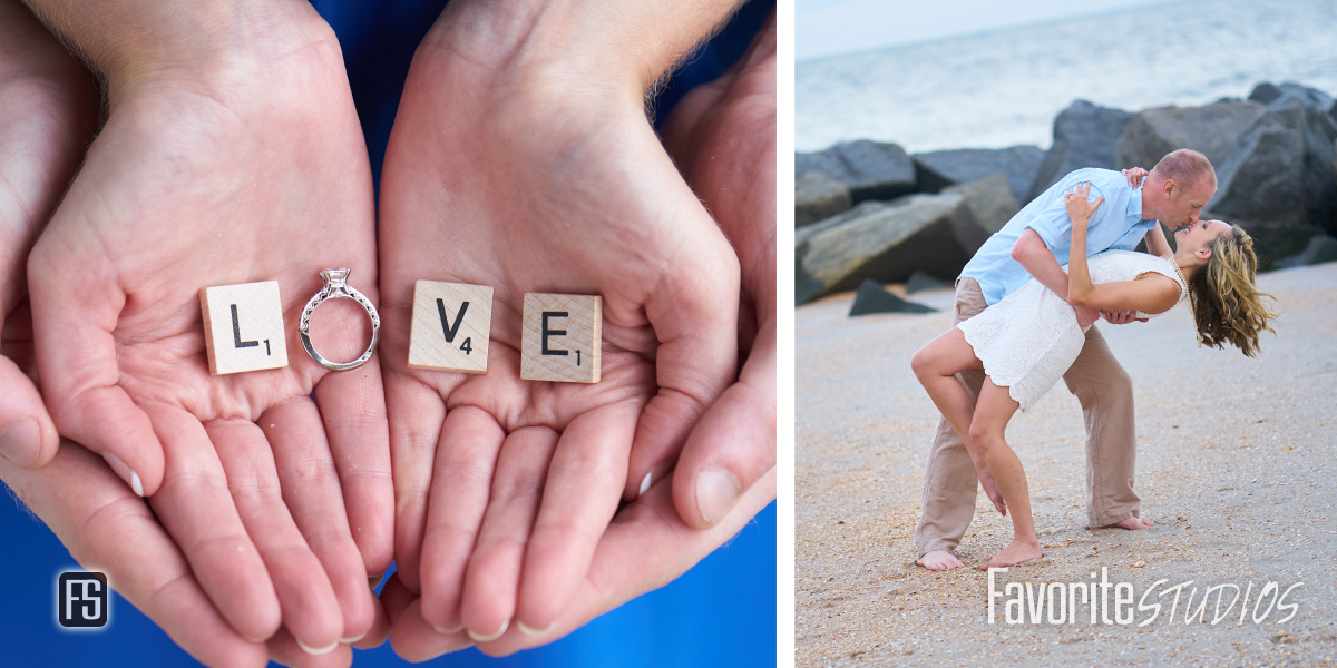 Engagement Ring Scrabble LOVE photo