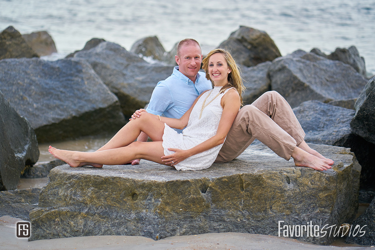 St Augustine Engagement Photography