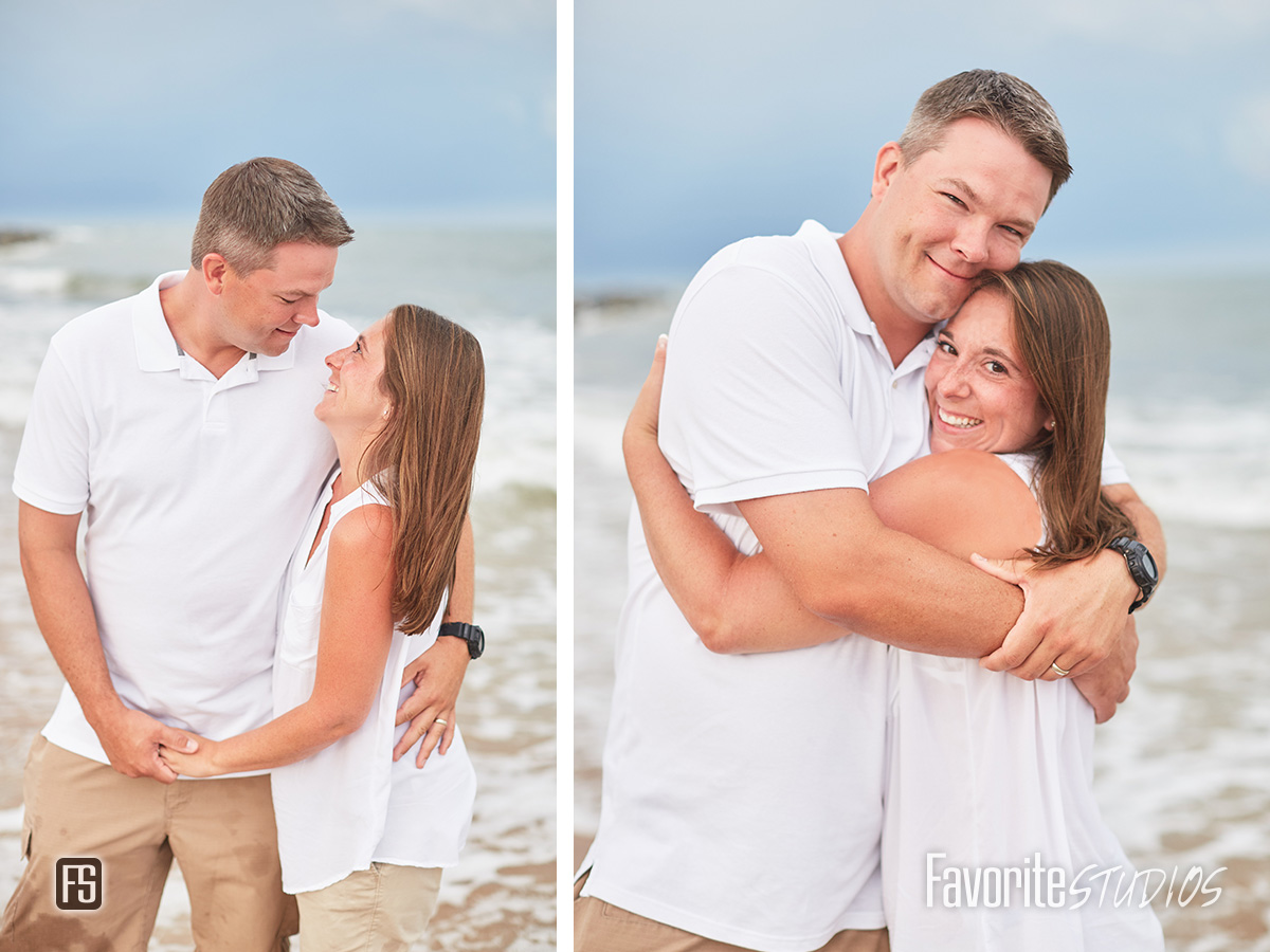 fun family beach photographer