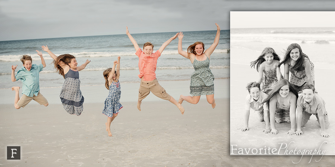 Fun St Augustine Child Beach Photography
