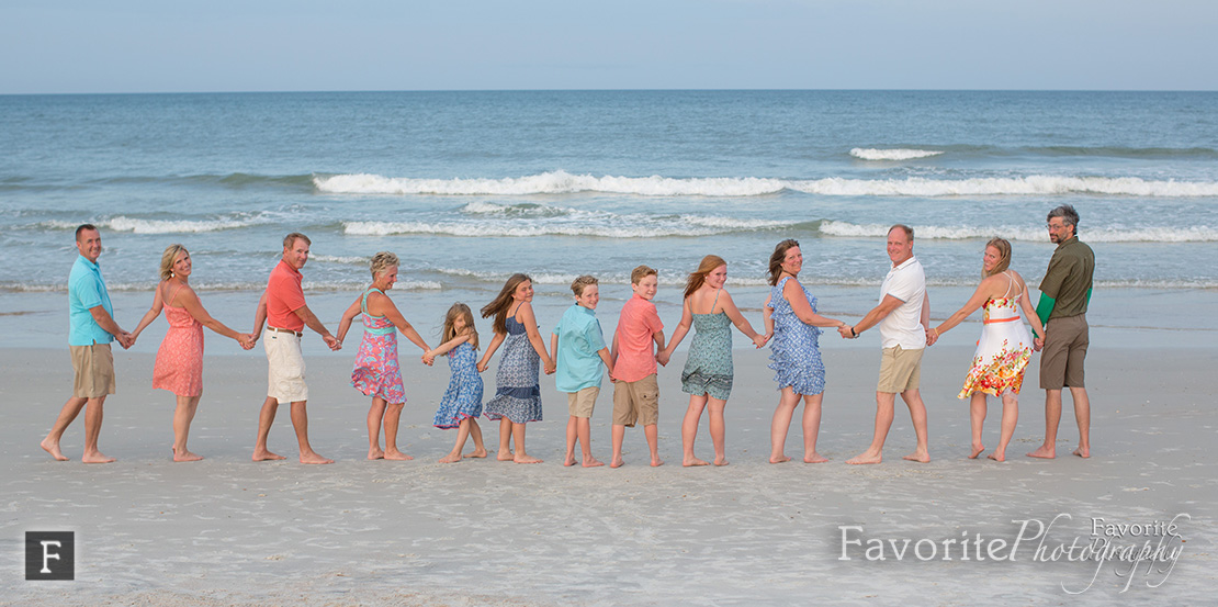 Vacation St Augustine Family Beach Photographer