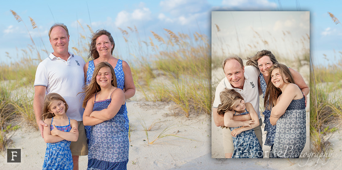 St Augustine Family Beach Photo