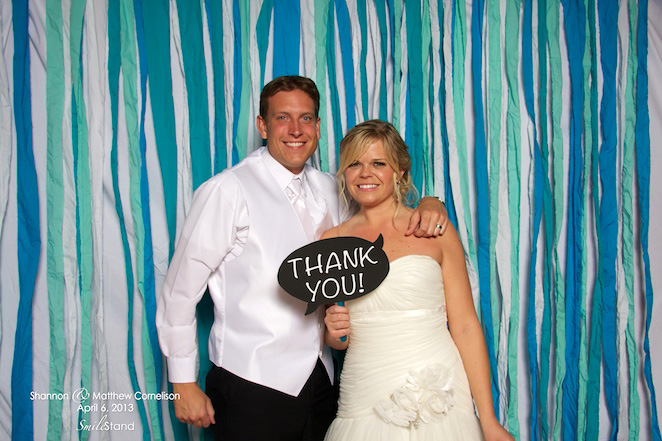 Wedding Reception Photo Booth