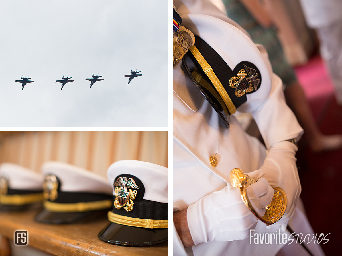 Navy Military Wedding Photography