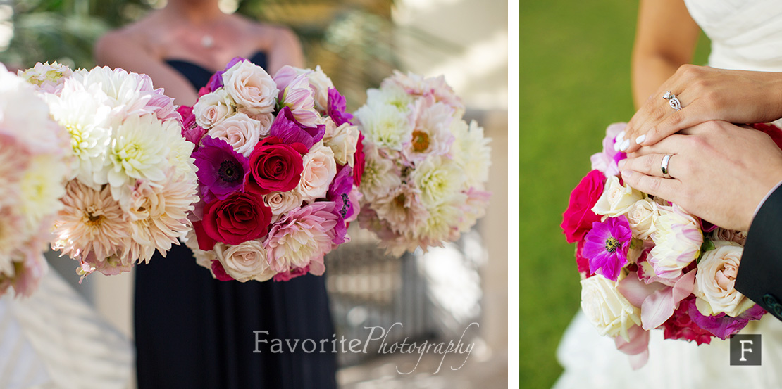 Palm Coast Wedding Bouquet & Ring Photos