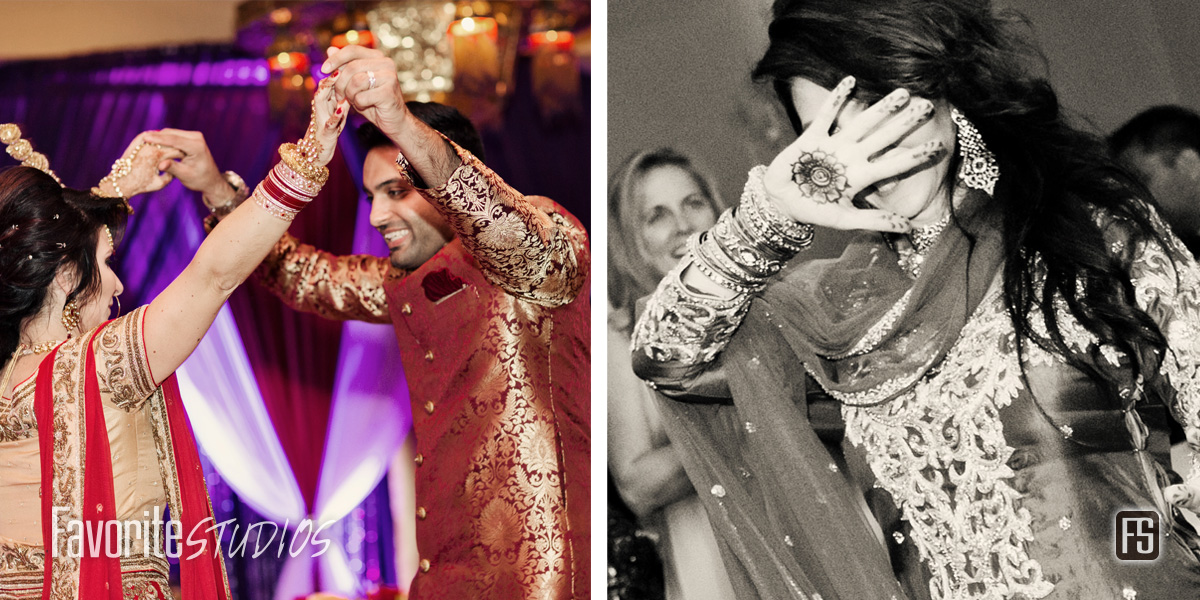 Indian Reception Dancing - St Augustine Wedding Photographer