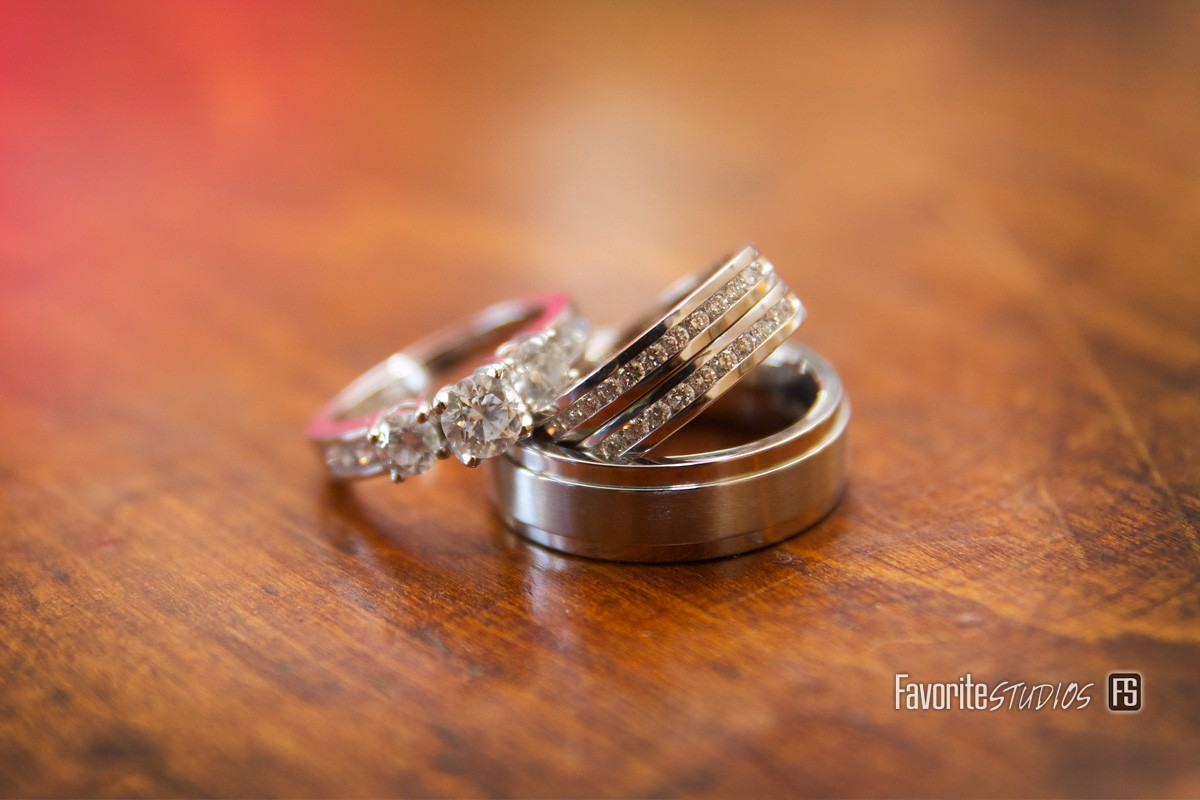 Bride and Groom Rings, Florida Photographers,