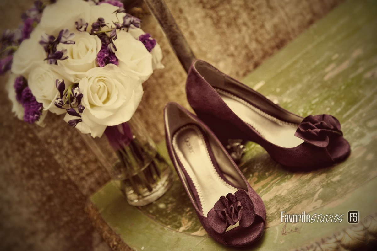 Getting Ready Photos, Wedding Detail Photographs, Flower and Shoes, Bride Shoes, Florida Photographers