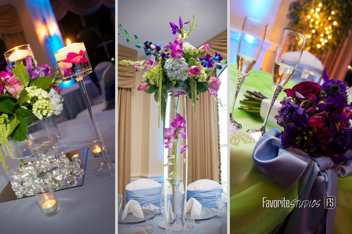 Reception, Table Settings, Center Pieces, Place Settings, Florida Photograpers