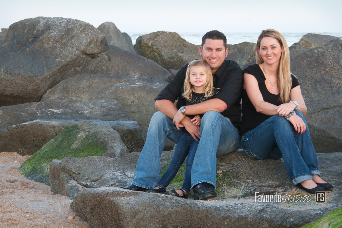 Favorite Photography, Florida Photographer, Family Poses Oceanfront