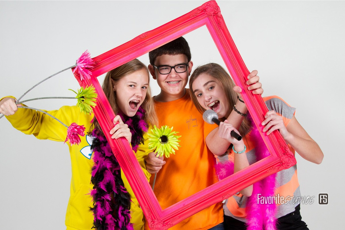 Florida Photographers, Kids and School Events, Fun Photos, Crazy Silly Props