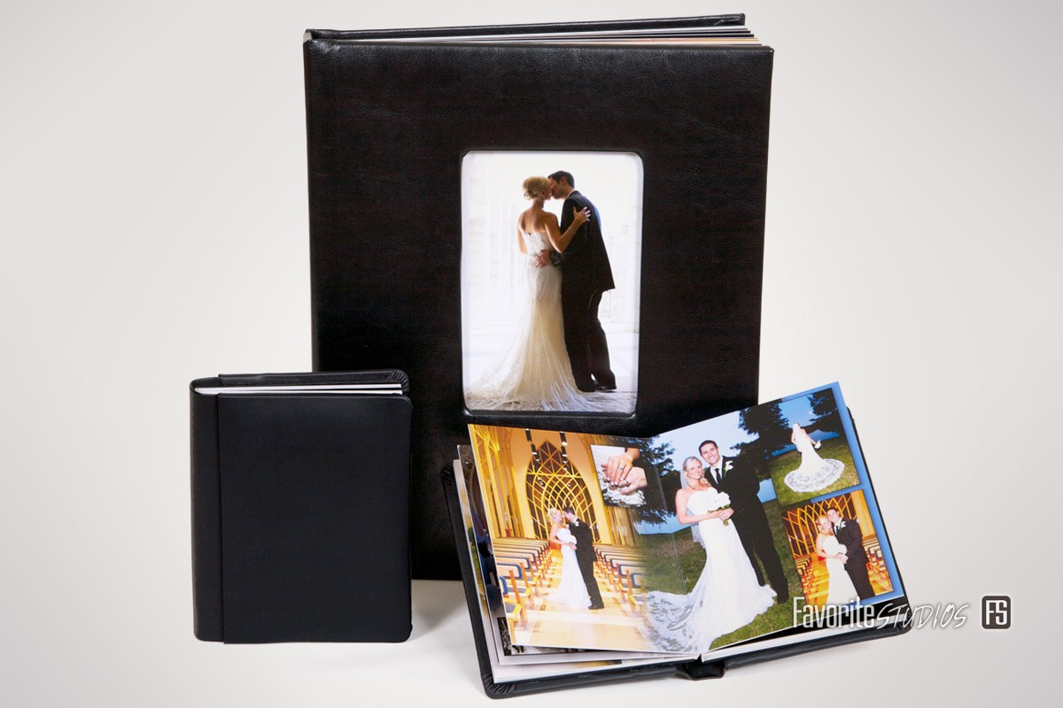 Leather Wedding Album, Story Book Photos, Local Photographers, Look Book