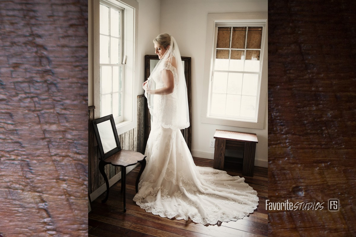 Bride Photo by Favorite Studios Jacksonville Wedding Photographer at Beaches Museum and History Park and Chapel
