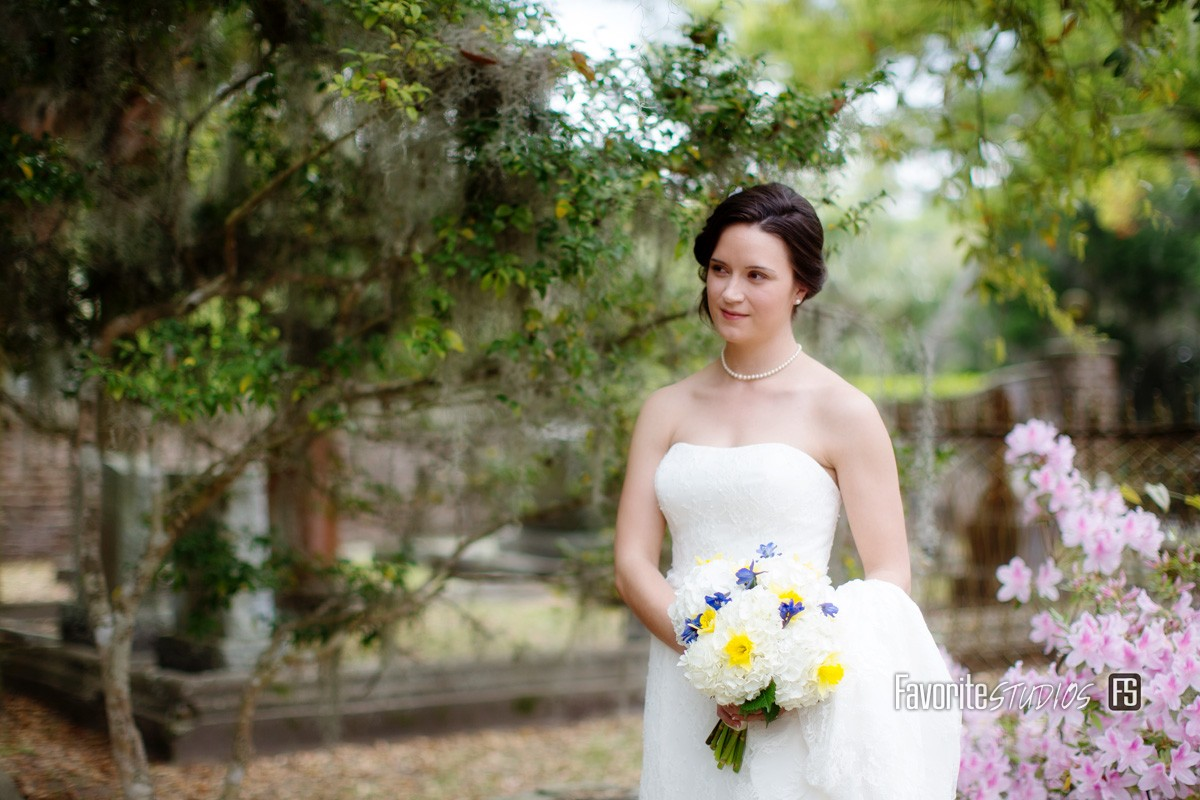 Bride Photos by Favorite Studios Photography Wedding Travel Photographer in Beaufort South Carolina