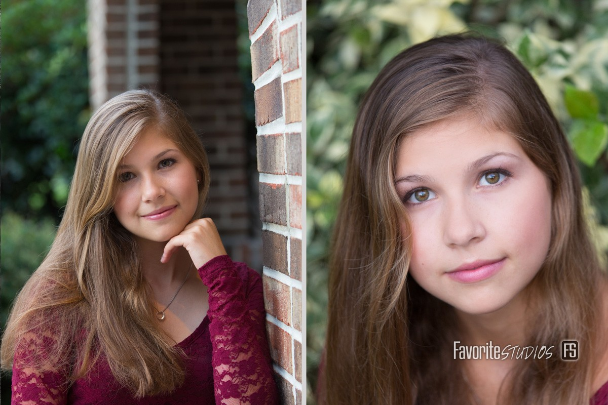Natural Outdoor Senior Photo, Saint Augustine and Jacksonville Florida,